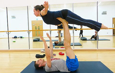 Rachael Baker Acro Yoga Birmingham UK