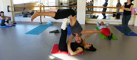 Efi Tsiara Acro Yoga Birmingham UK