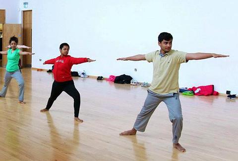 Steve Thachet Yoga Birmingham UK