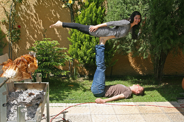 Greek Easter Acro Yoga