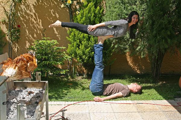 Greek Easter Acro Yoga
