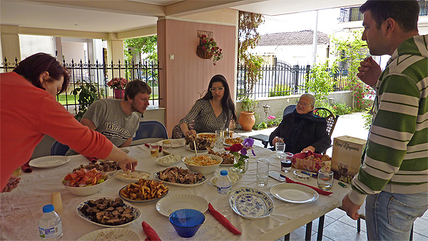 Greek Easter Meal