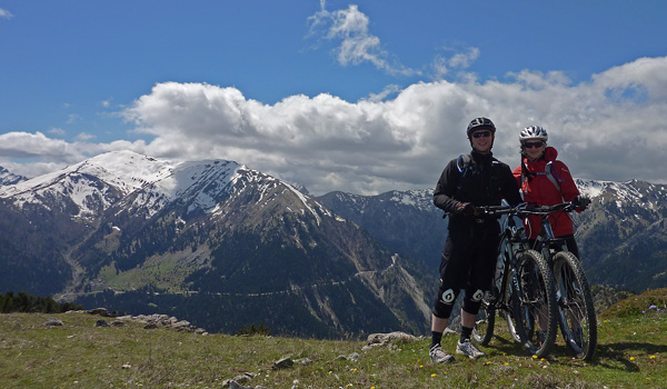 Plastiras Lake Mountain Biking