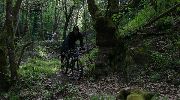Acro Yoga and Mountain Biking in Karditsa