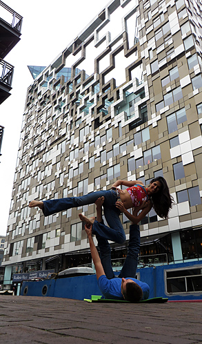 Acro Yoga in Birmingham