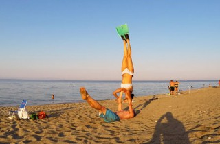 AcroYoga Holidays Greece