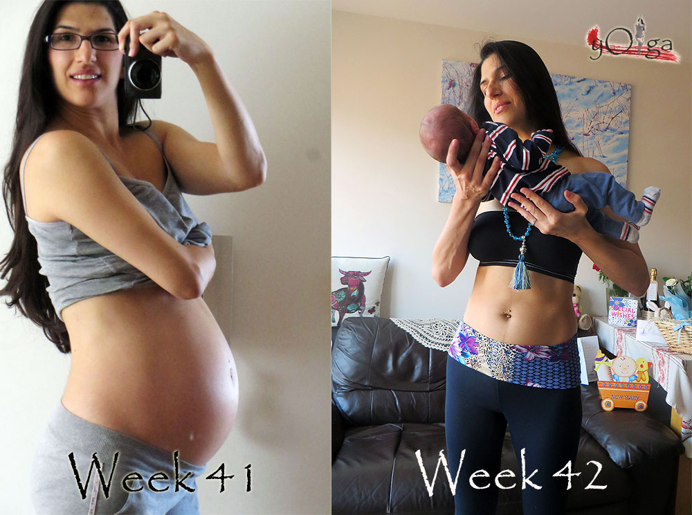 pre and post pregnancy yoga transformation